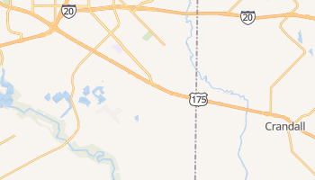 Seagoville, Texas map