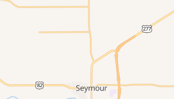 Seymour, Texas map