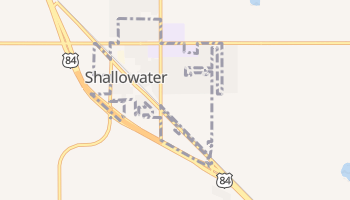 Shallowater, Texas map