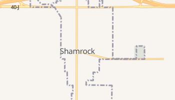 Shamrock, Texas map