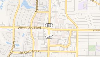 Shepton, Texas map