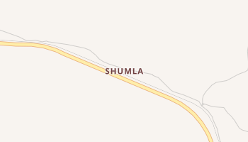 Shumla, Texas map