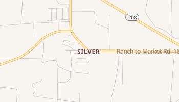 Silver, Texas map