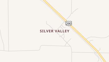 Silver Valley, Texas map