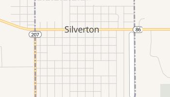 Silverton, Texas map