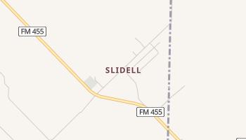 Slidell, Texas map