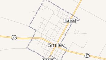 Smiley, Texas map