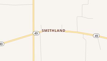 Smithland, Texas map
