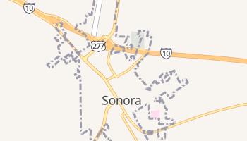 Sonora, Texas map