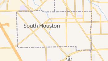 South Houston, Texas map