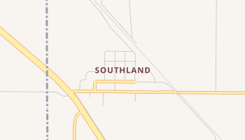 Southland, Texas map