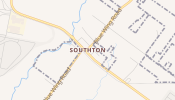 Southton, Texas map
