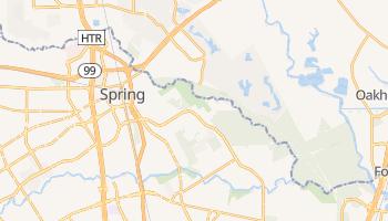 Spring, Texas map