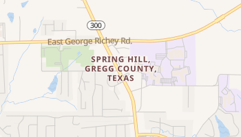 Spring Hill, Texas map