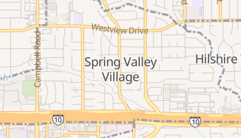 Spring Valley, Texas map