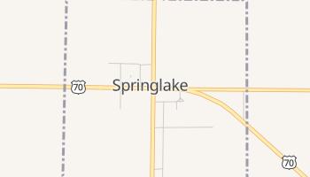 Springlake, Texas map