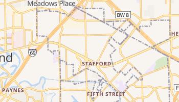 Stafford, Texas map