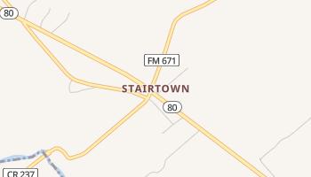 Stairtown, Texas map