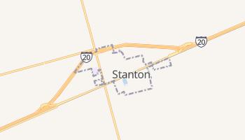 Stanton, Texas map