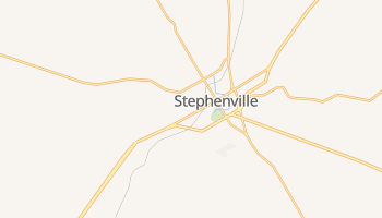 Stephenville, Texas map
