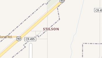 Stilson, Texas map