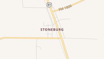 Stoneburg, Texas map