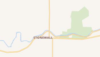 Stonewall, Texas map