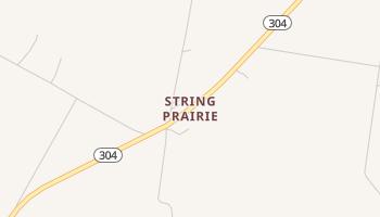 String Prairie, Texas map