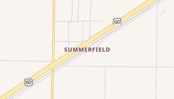 Summerfield, Texas map