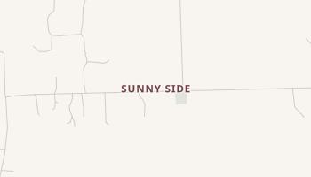 Sunny Side, Texas map