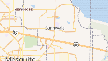Sunnyvale, Texas map