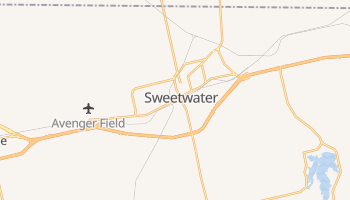 Sweetwater, Texas map