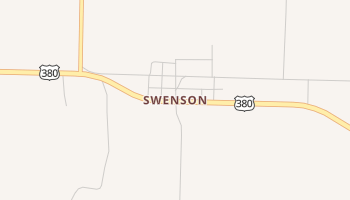 Swenson, Texas map