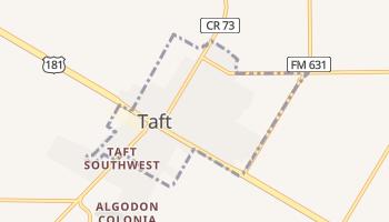 Taft, Texas map