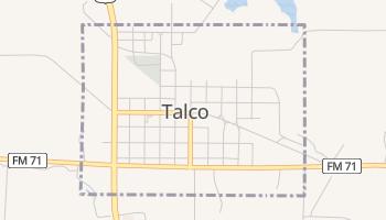 Talco, Texas map