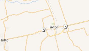 Taylor, Texas map