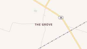 The Grove, Texas map