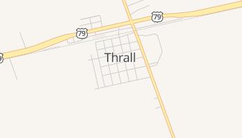 Thrall, Texas map