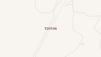 Tiffin, Texas map