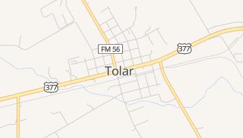 Tolar, Texas map