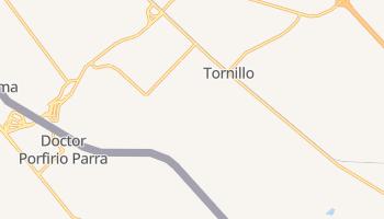 Tornillo, Texas map