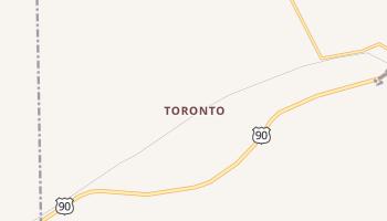 Toronto, Texas map