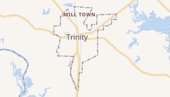 Trinity, Texas map