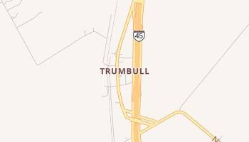 Trumbull, Texas map