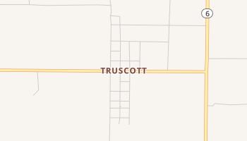 Truscott, Texas map