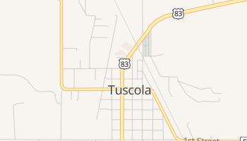Tuscola, Texas map