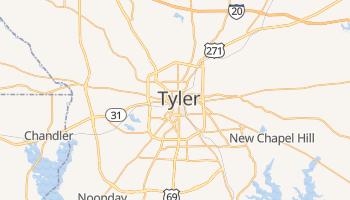 Tyler, Texas map