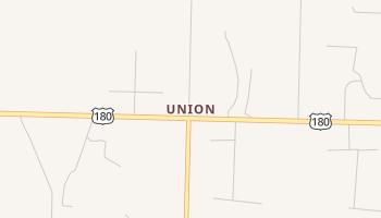 Union, Texas map