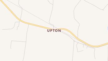 Upton, Texas map