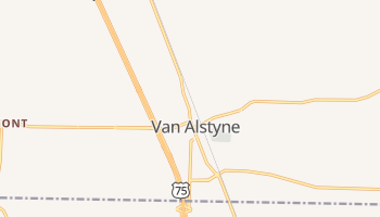Van Alstyne, Texas map